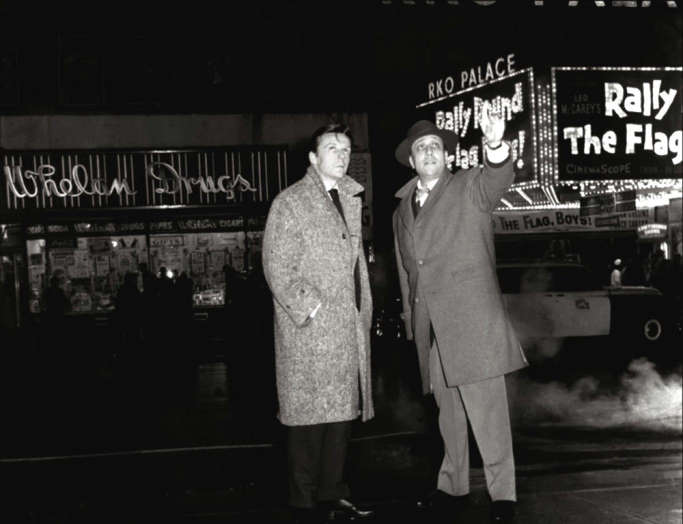 Deux hommes dans Manhattan |