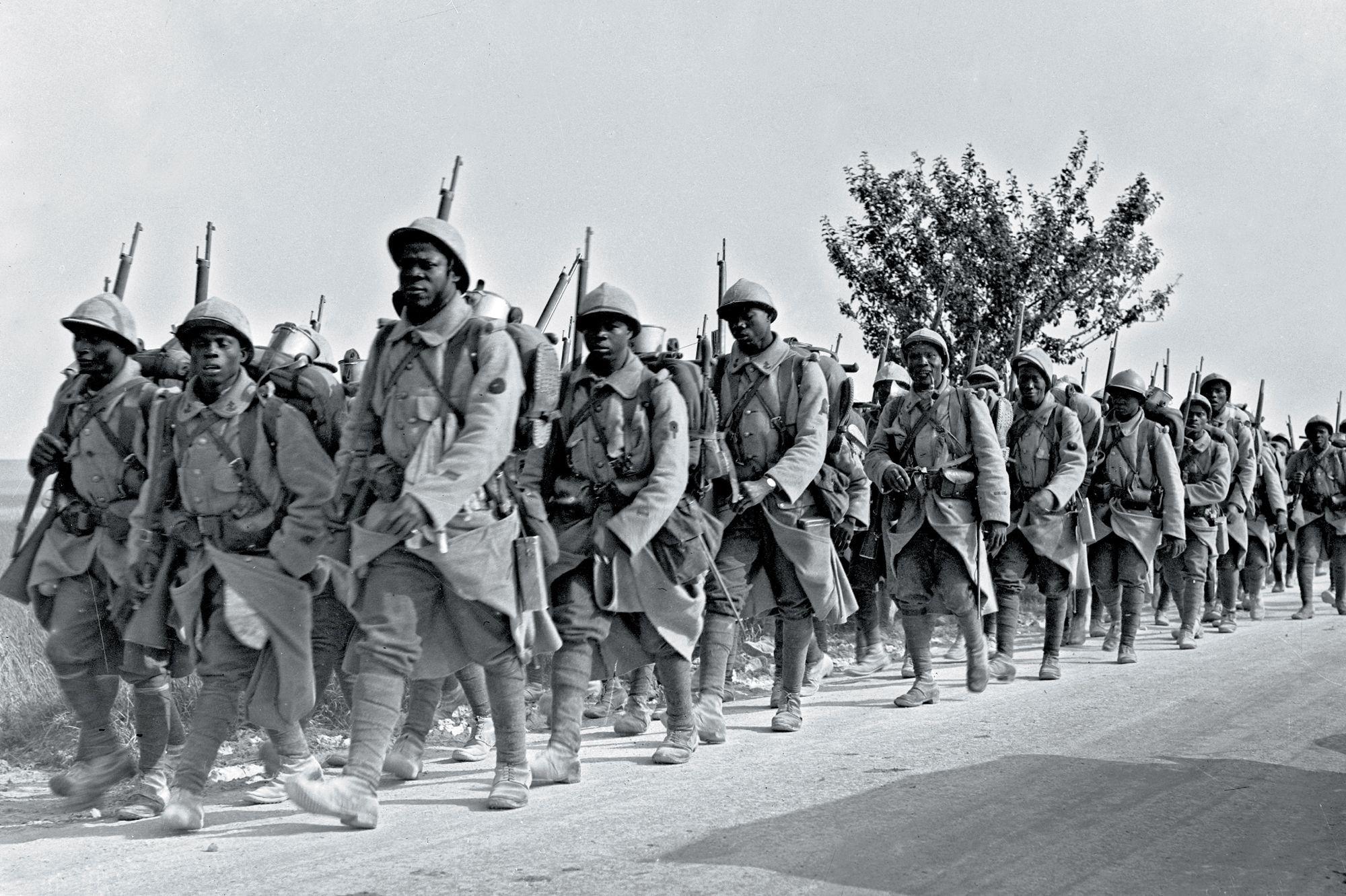 Soldats étrangers et coloniaux dans la Grande Guerre |