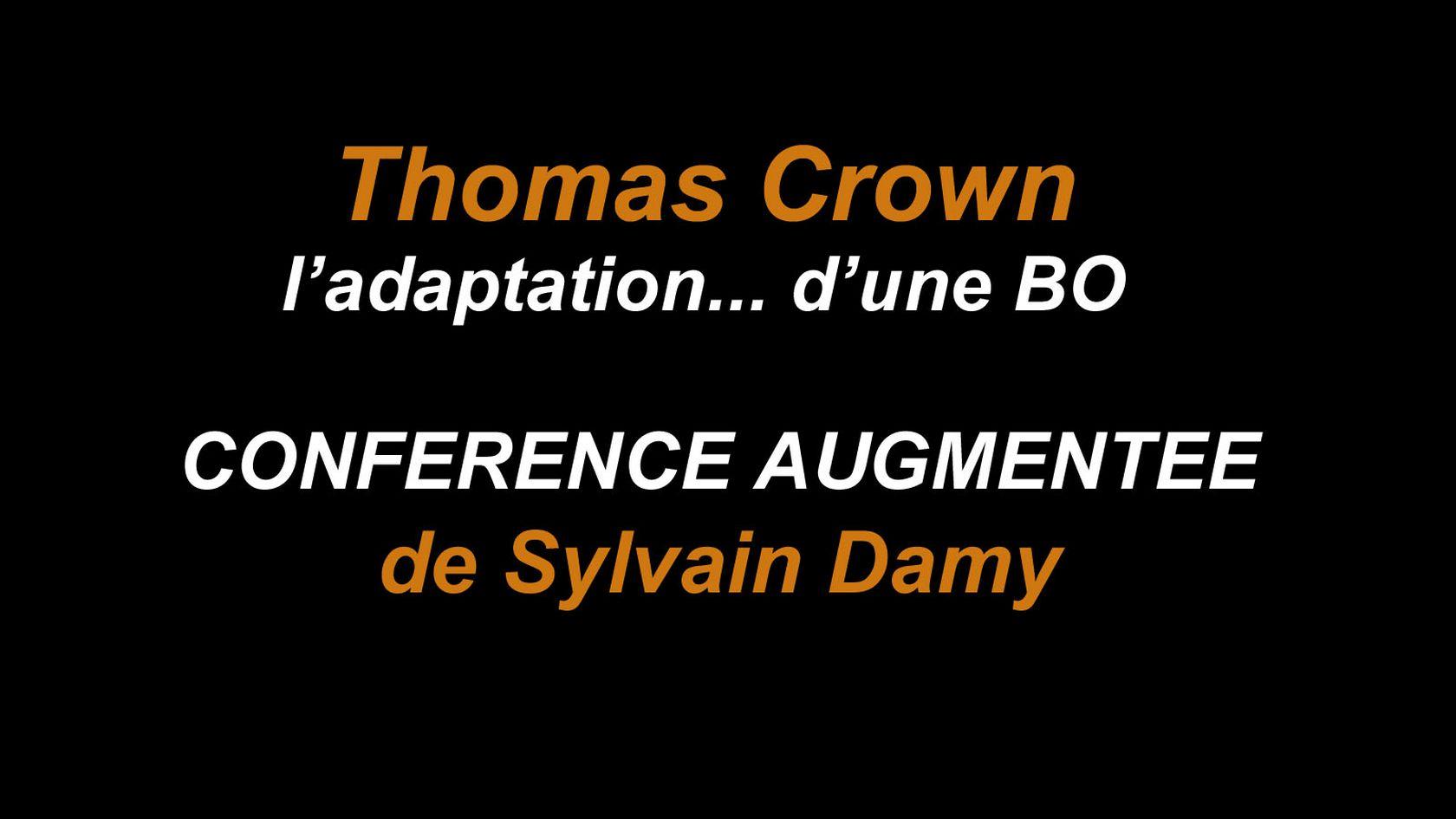 Conférence augmentée de Sylvain Damy |