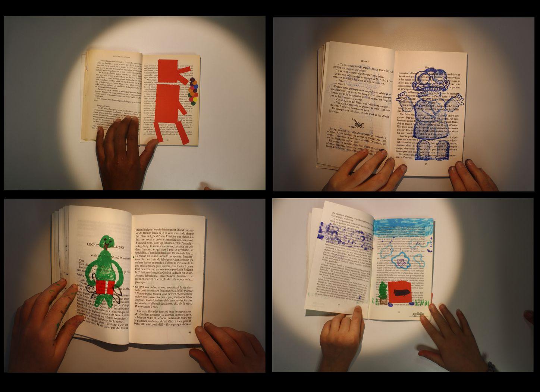 Atelier dessin animé sur livres / Flipbook |